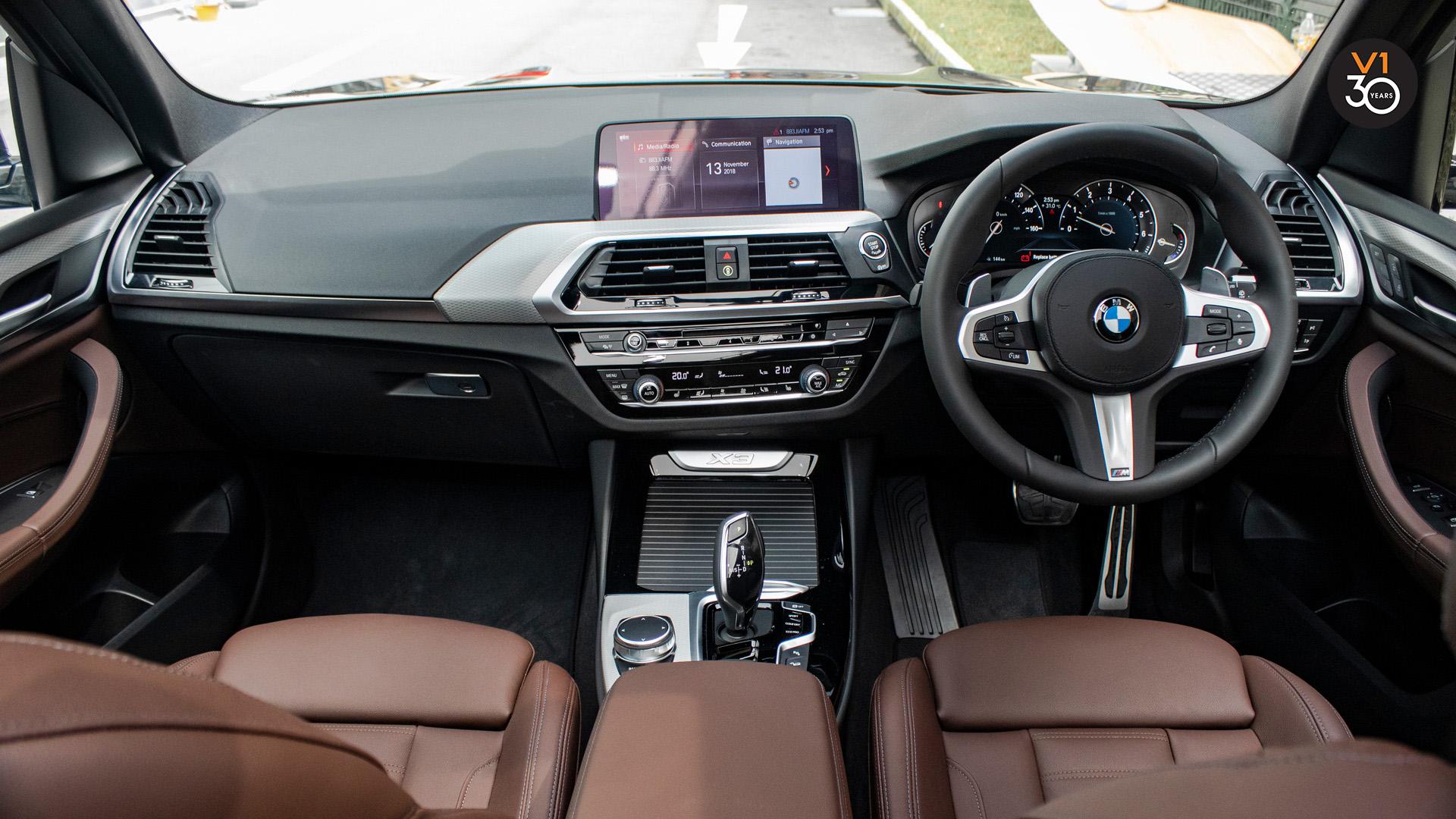 BMW X3 XDrive 2.0I M Sport - Interior Dash