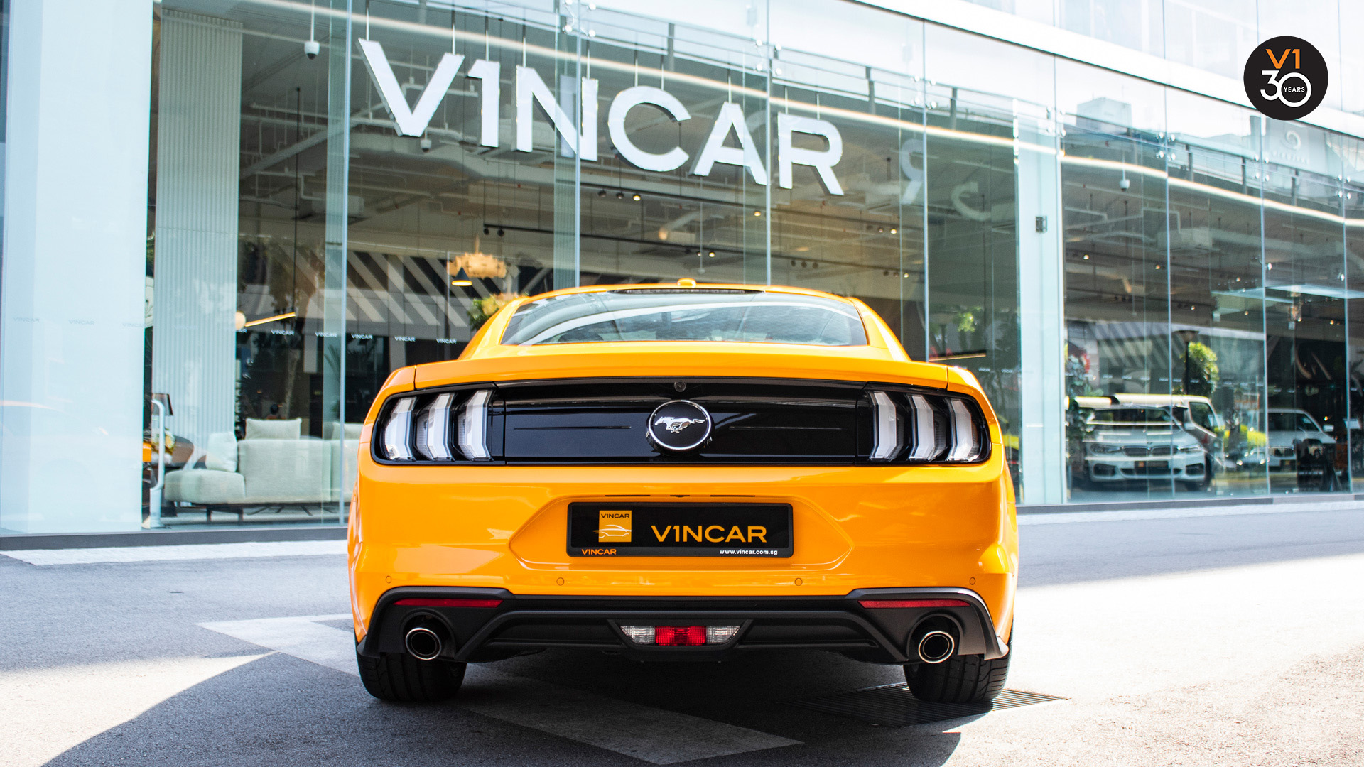 Ford Mustang 2.3 Ecoboost Fastback - Rear Direct