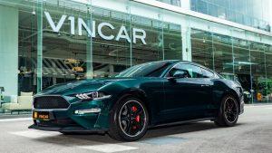 Ford Mustang 5.0 Bullitt - Front Angle