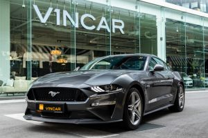 Ford Mustang 5.0 V8 GT Fastback - Side profile