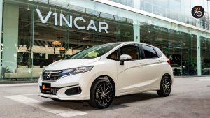Honda Fit 1.3G F-Package - Side Profile