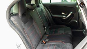 Mercedes A200 AMG Line - Backseat