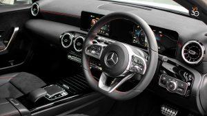 Mercedes A200 AMG Line - Steering Wheel