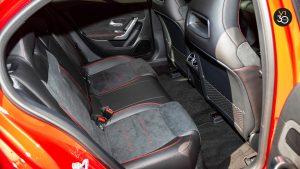 Mercedes A200 AMG Premium Plus - Backseat