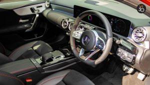 Mercedes A200 AMG Premium Plus - Center Console