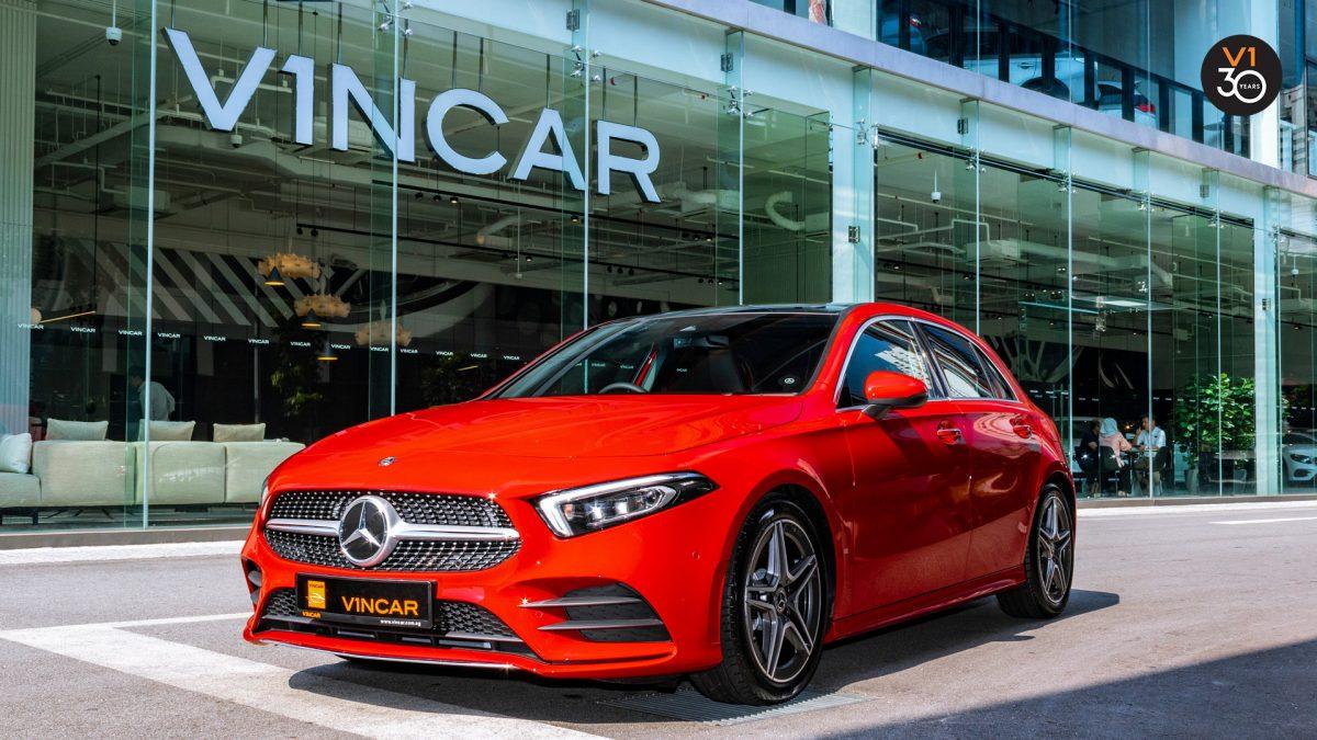 Mercedes A200 AMG Premium Plus - Front Angle