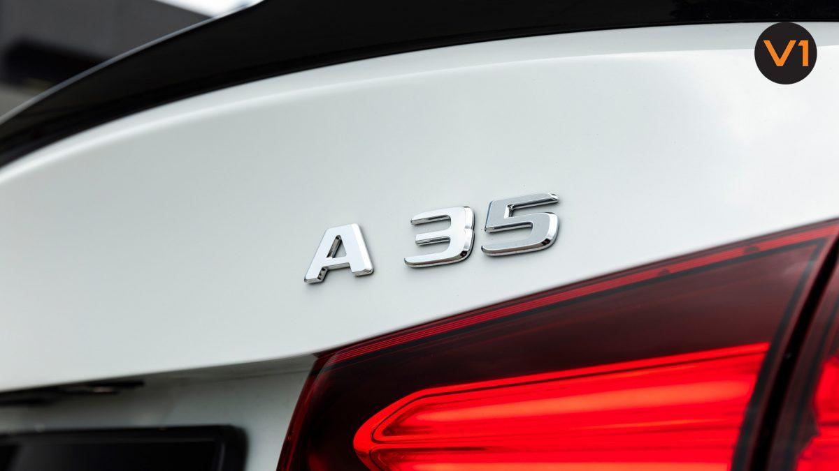 Mercedes A35 Saloon 4Matic Premium Plus - A35 Logo