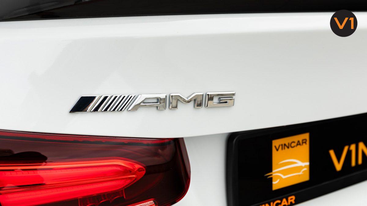 Mercedes A35 Saloon 4Matic Premium Plus - AMG Logo