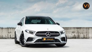 Mercedes A35 Saloon 4Matic Premium Plus - Front Angle
