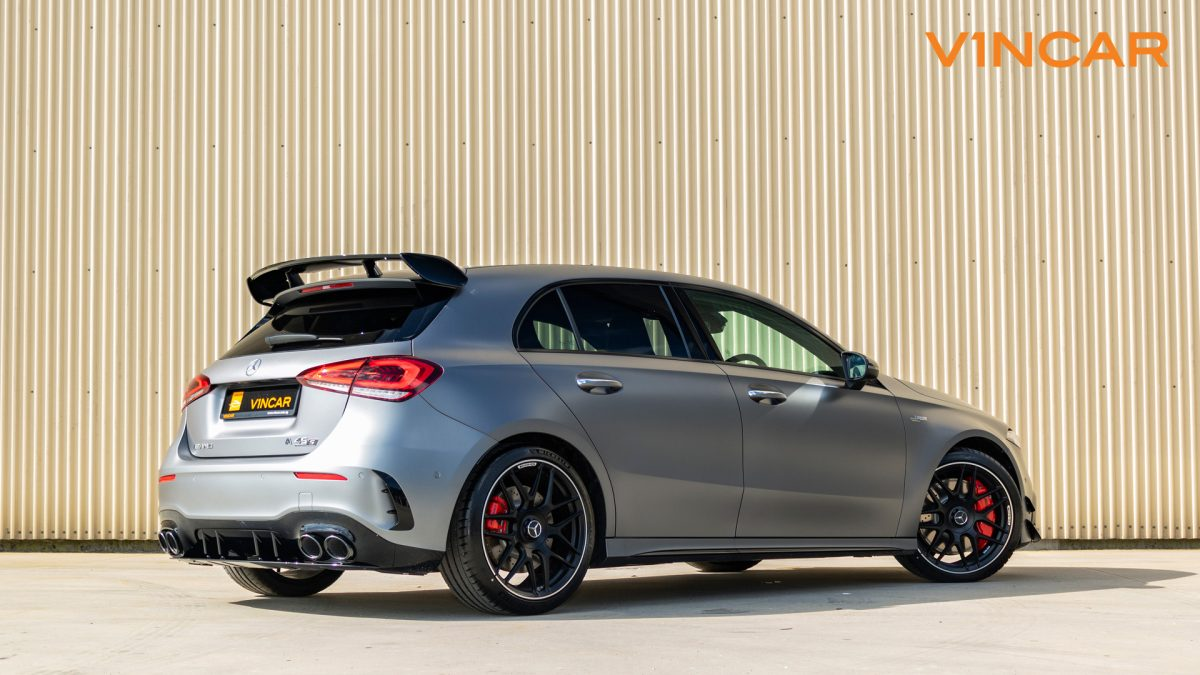 Mercedes A45 S 4MATIC+ Plus AMG - Back Angle