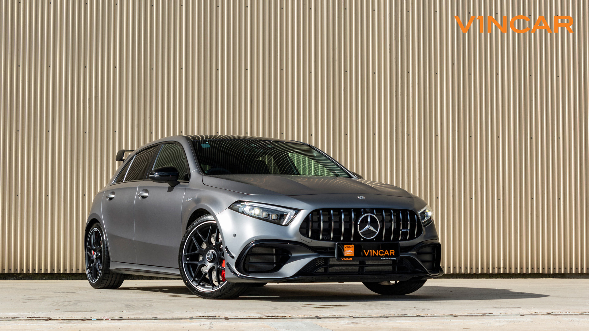 Mercedes A45 S 4MATIC+ Plus AMG - Front Angle
