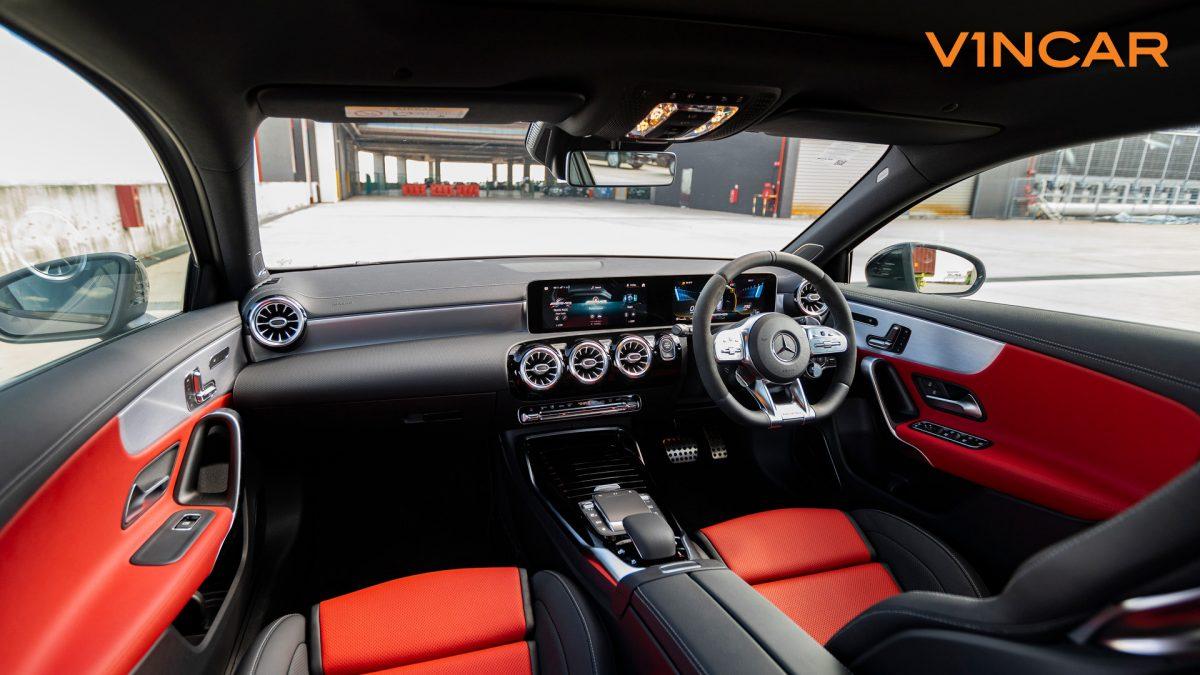 Mercedes A45 S 4MATIC+ Plus AMG - Interior Dash