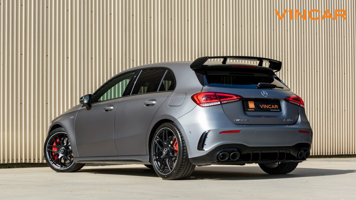 Mercedes A45 S 4MATIC+ Plus AMG - Rear Angle