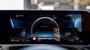 Mercedes A45 S 4MATIC+ Plus AMG - Screen Display