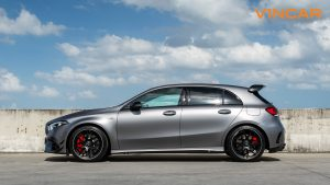 Mercedes A45 S 4MATIC+ Plus AMG - Side Angle