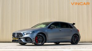 Mercedes A45 S 4MATIC+ Plus AMG - Side Profile