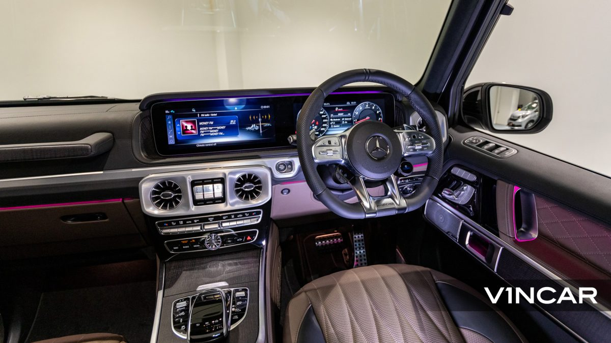 Mercedes-AMG G63 - Ambient Lighting