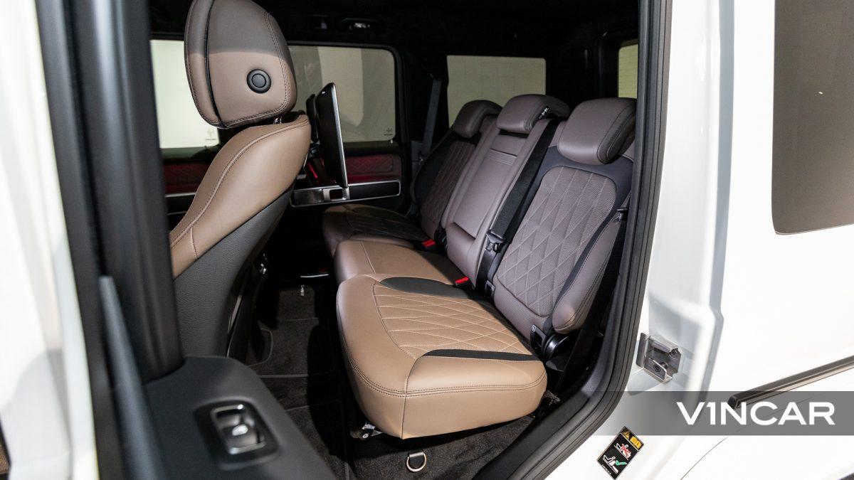 Mercedes-AMG G63 - Back Seat