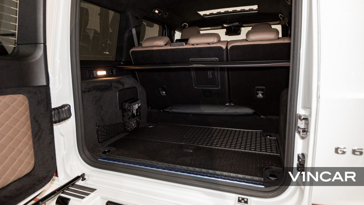 Mercedes-AMG G63 - Boot Space