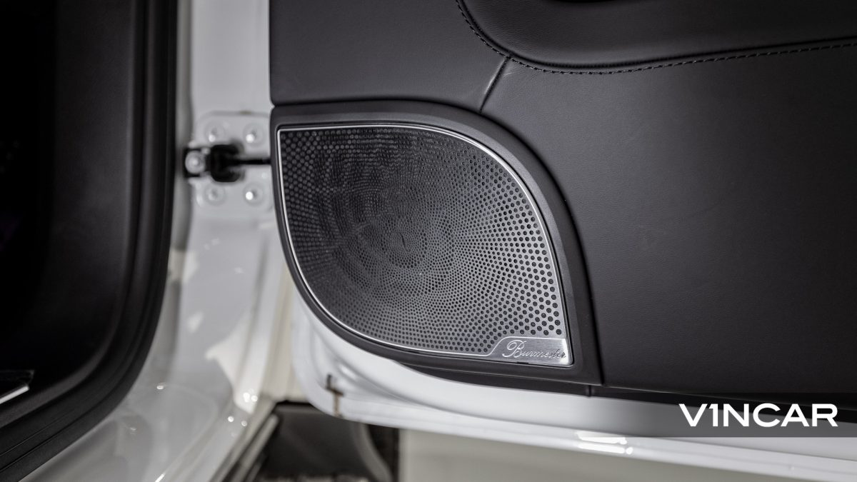 Mercedes-AMG G63 - Burmester Surround Sound System