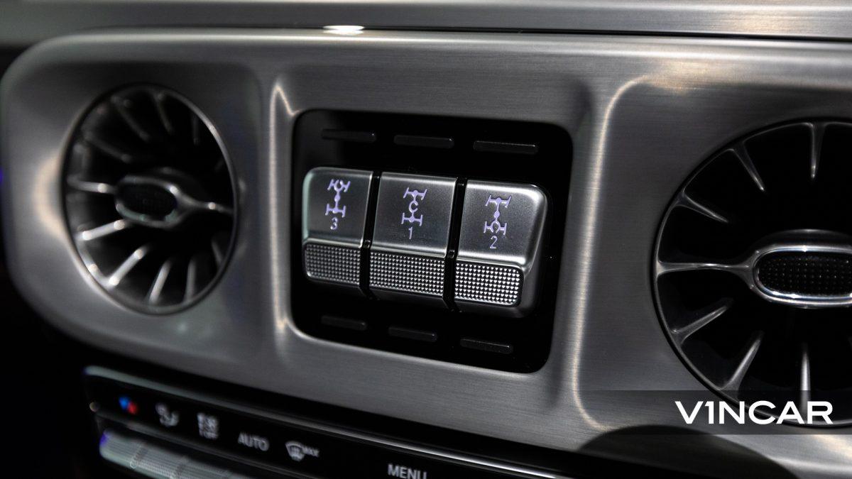Mercedes-AMG G63 - Differential Lock