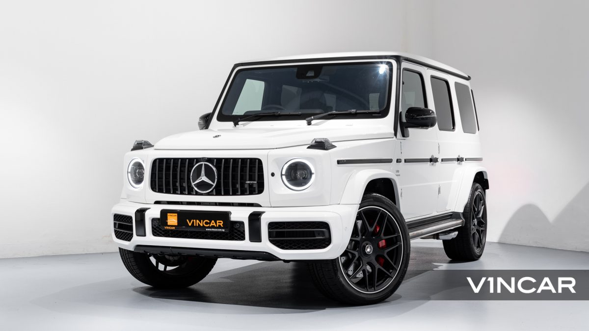 Mercedes-AMG G63 - Front Angle