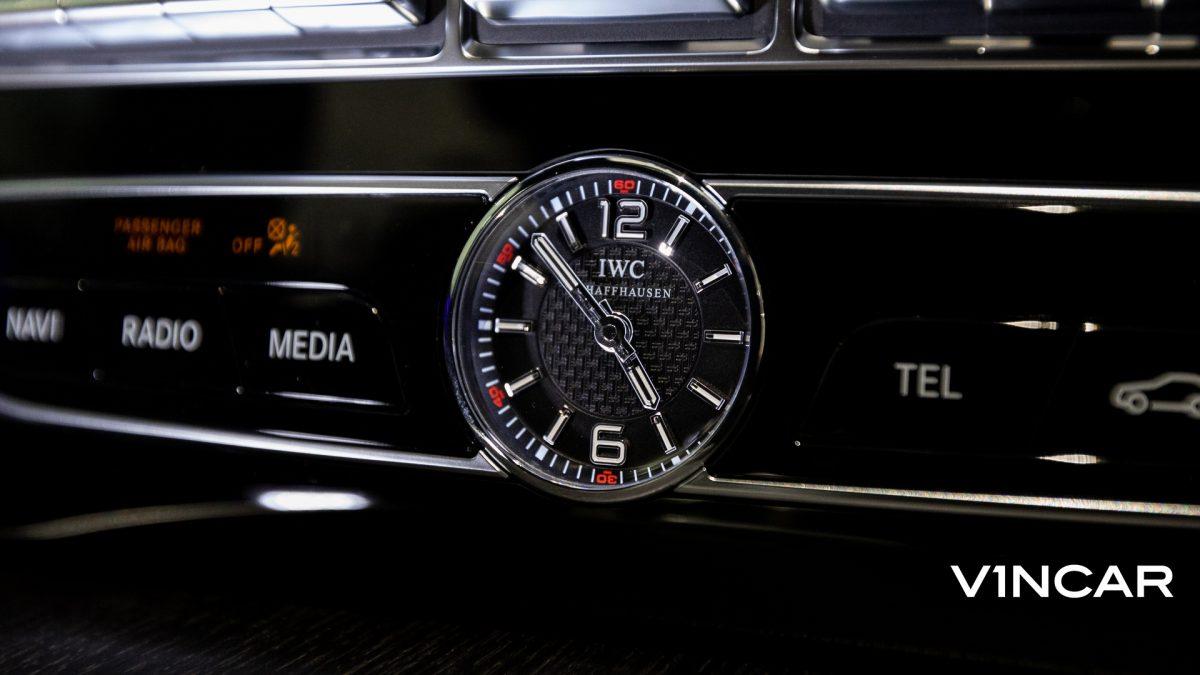 Mercedes-AMG G63 - IWC Analogue Clock