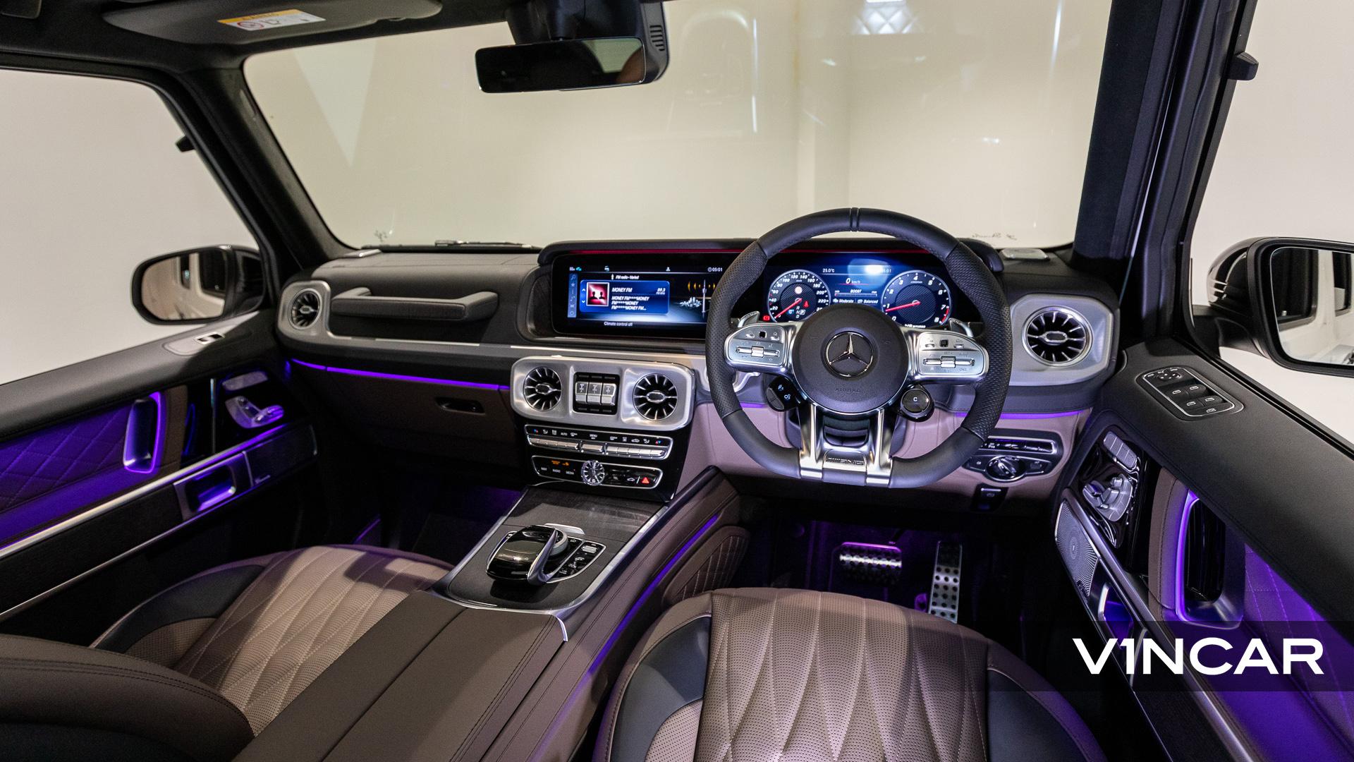 Mercedes-AMG G63 - Interior Dashboard
