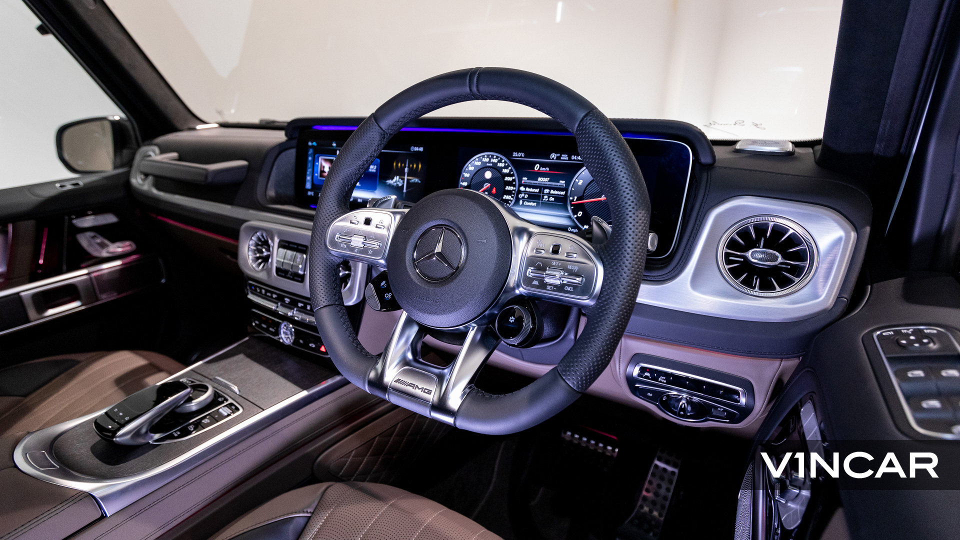 Mercedes-AMG G63 - Multifunction Steering Wheel