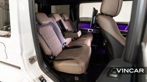 Mercedes-AMG G63 - Rear Seat