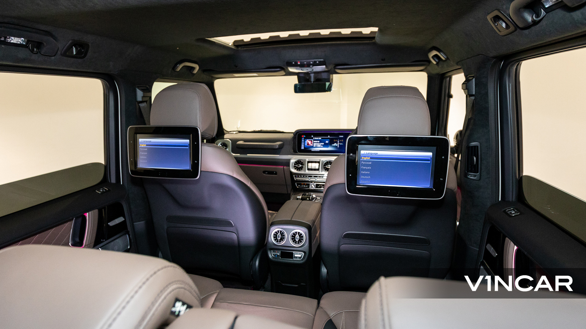 Mercedes-AMG G63 - Rear Seat Entertainment System 2