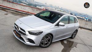 Mercedes B200 AMG Premium Plus - Top Angle
