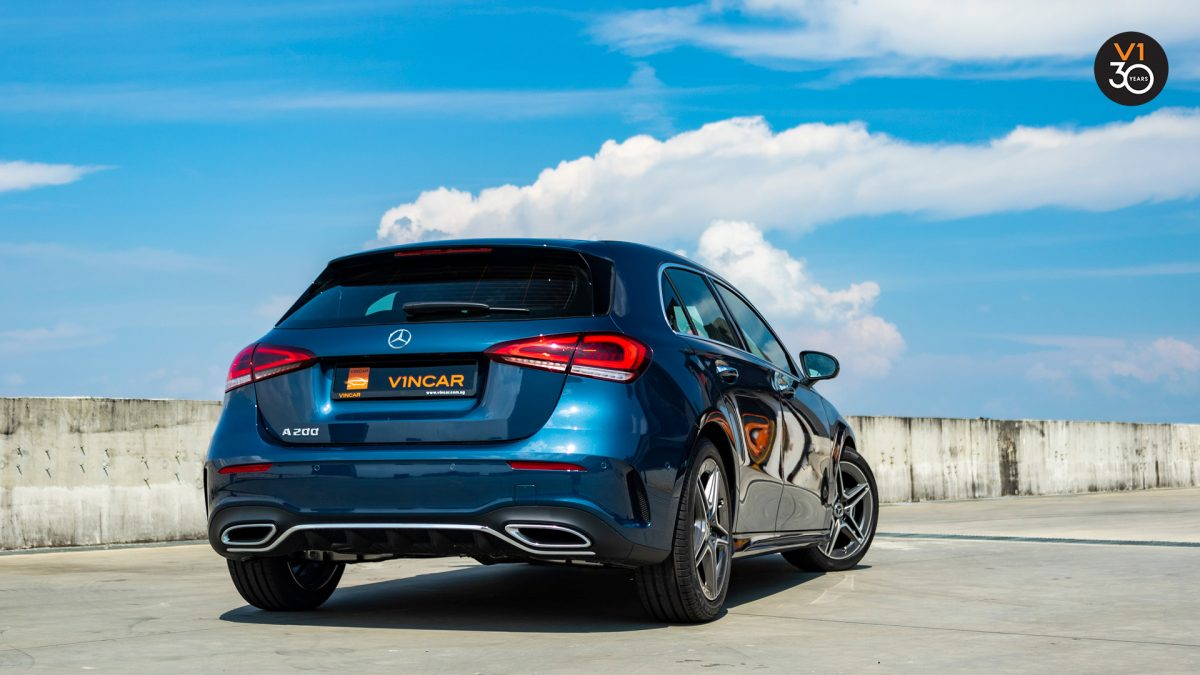 Mercedes-Benz A200 AMG Premium - Rear Angle
