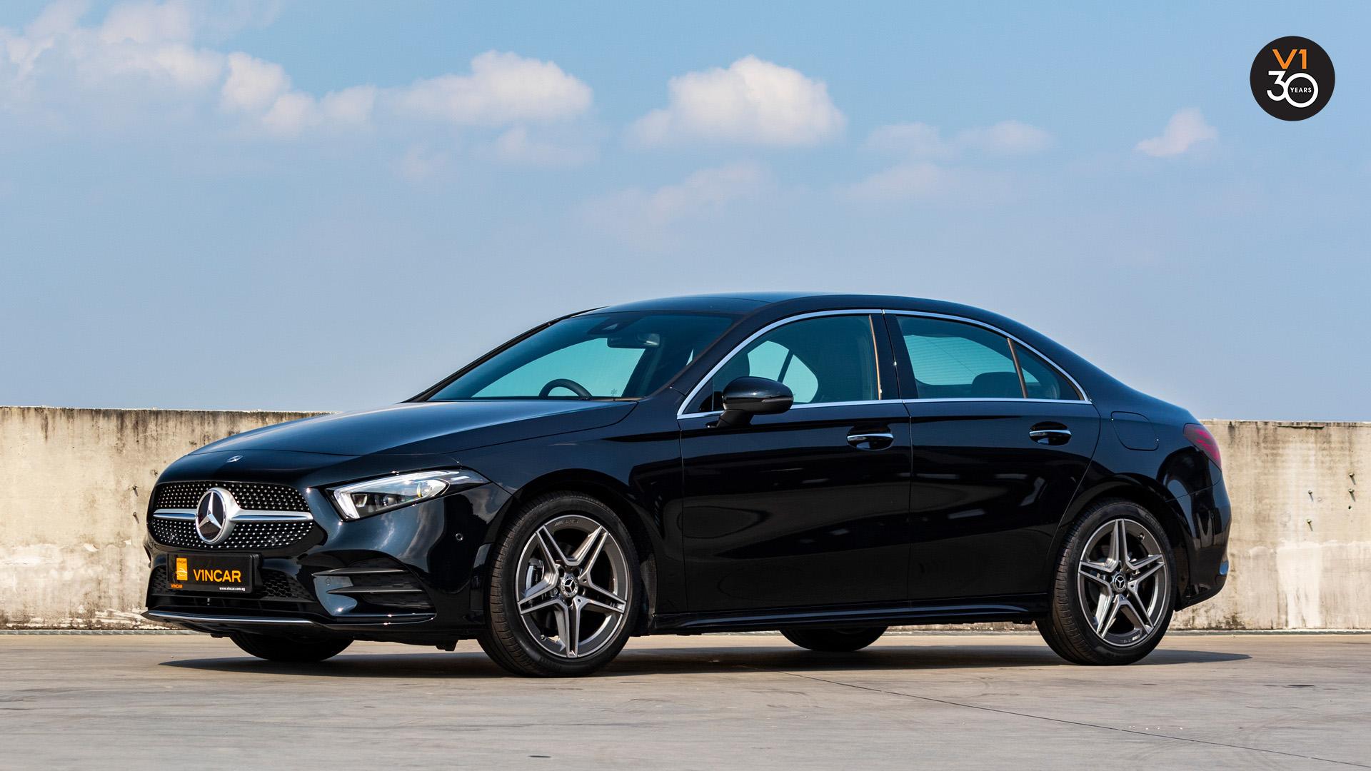 Mercedes-Benz A200 Saloon AMG Premium Plus - Side Profile