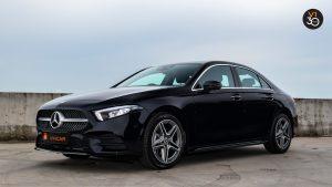 Mercedes-Benz A200 Saloon AMG Premium - Side Profile