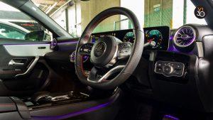 Mercedes-Benz A200 Saloon AMG Premium - Steering Wheel