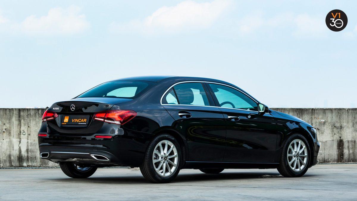 Mercedes-Benz A200 Saloon Sport Premium Plus - Rear Profile