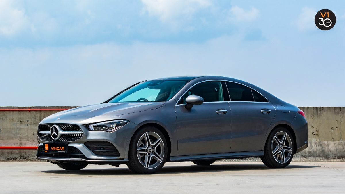 Mercedes-Benz CLA200 Coupe AMG Premium Plus - Front Lower Angle