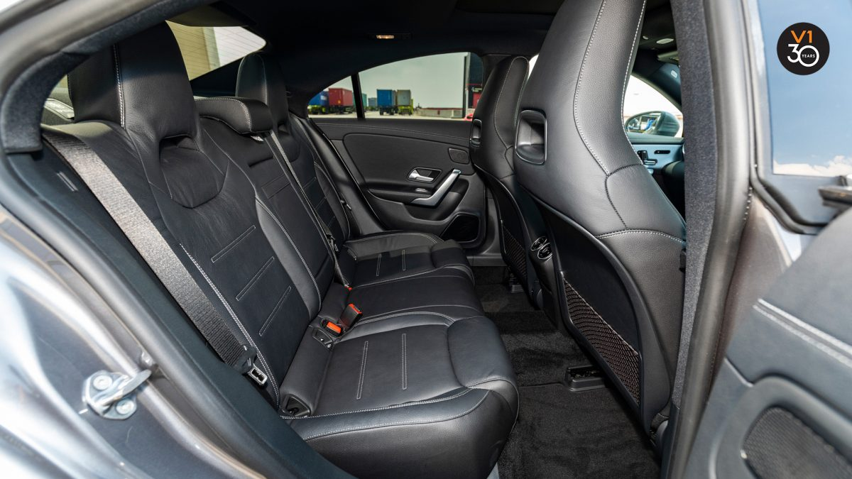 Mercedes-Benz CLA200 Coupe AMG Premium Plus - Rear Seat