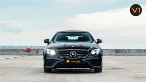Mercedes-Benz E300 Cabriolet AMG Line Night Edition Premium Plus - Front