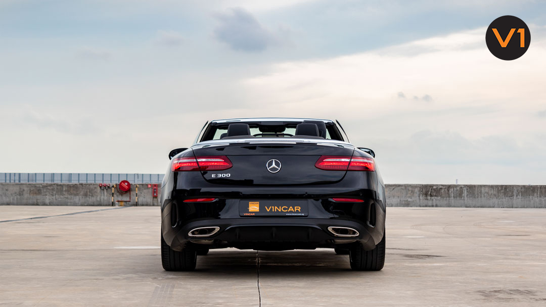Mercedes-Benz E300 Cabriolet AMG Line Night Edition Premium Plus - Rear Direct