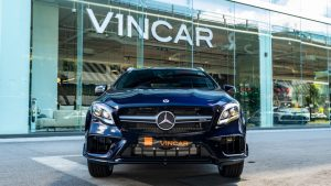 Mercedes-Benz GLA200 AMG GLA45 Bodykit - Front direct