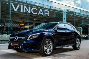 Mercedes-Benz GLA200 AMG GLA45 Bodykit - Side profile