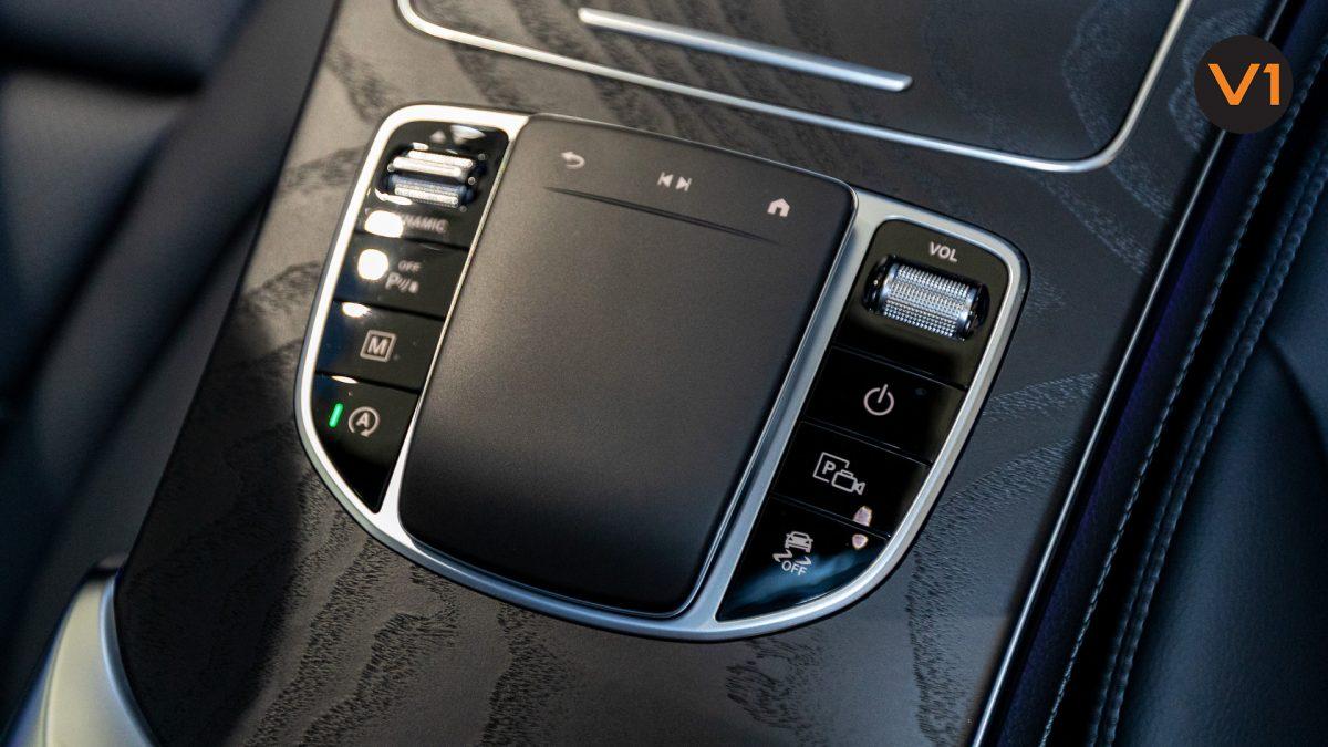 Mercedes-Benz GLC200 SUV - Center Console Touchpad