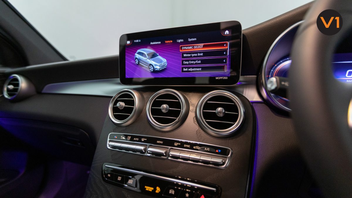 Mercedes-Benz GLC200 SUV - HVAC System