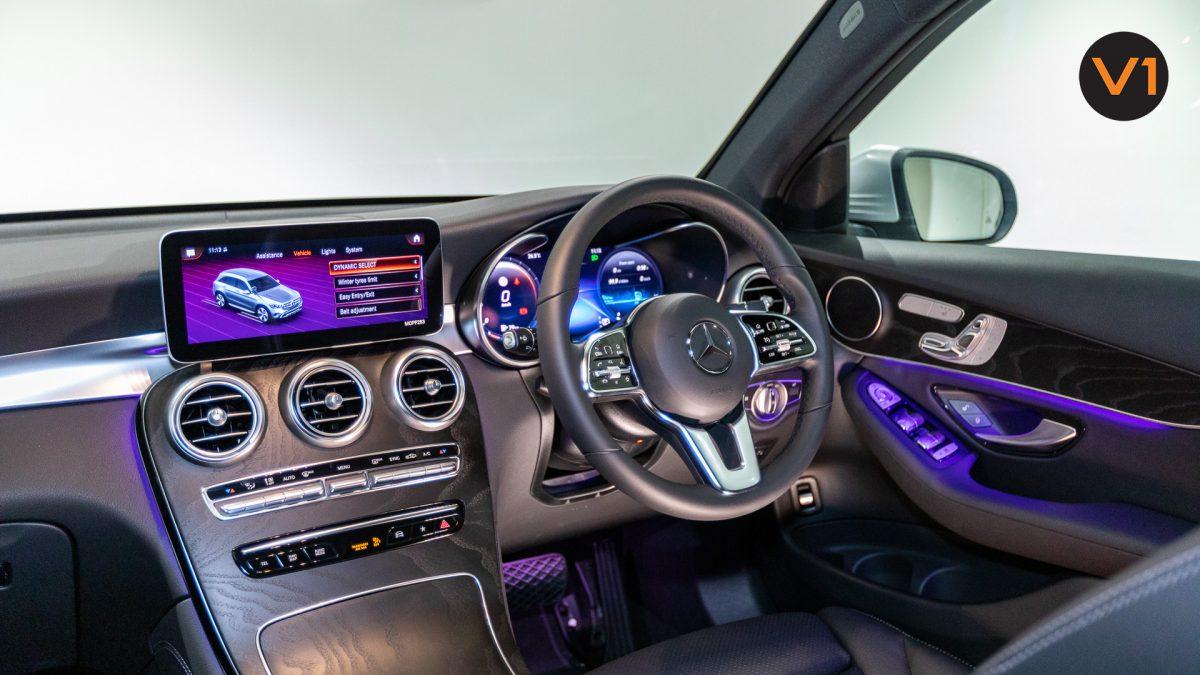 Mercedes-Benz GLC200 SUV - Infotainment 2