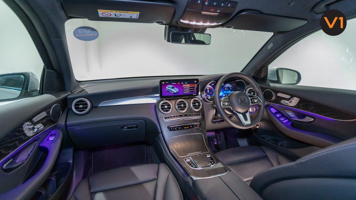 Mercedes-Benz GLC200 SUV - Interior Dashboard