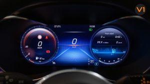 Mercedes-Benz GLC200 SUV - Speedometer