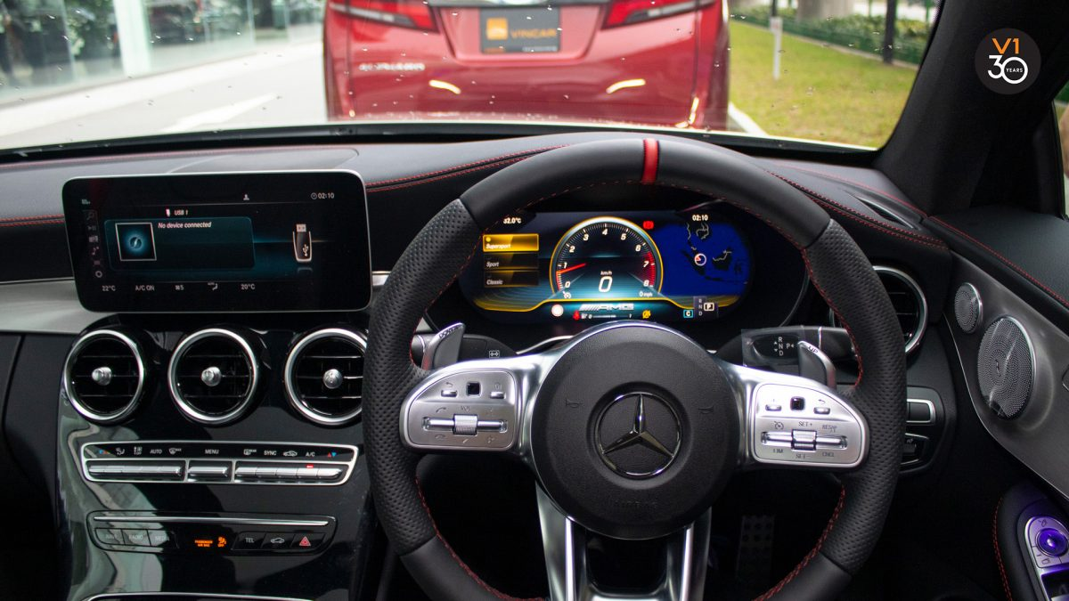 Mercedes C43 Coupe 4MATIC AMG - Dashboard