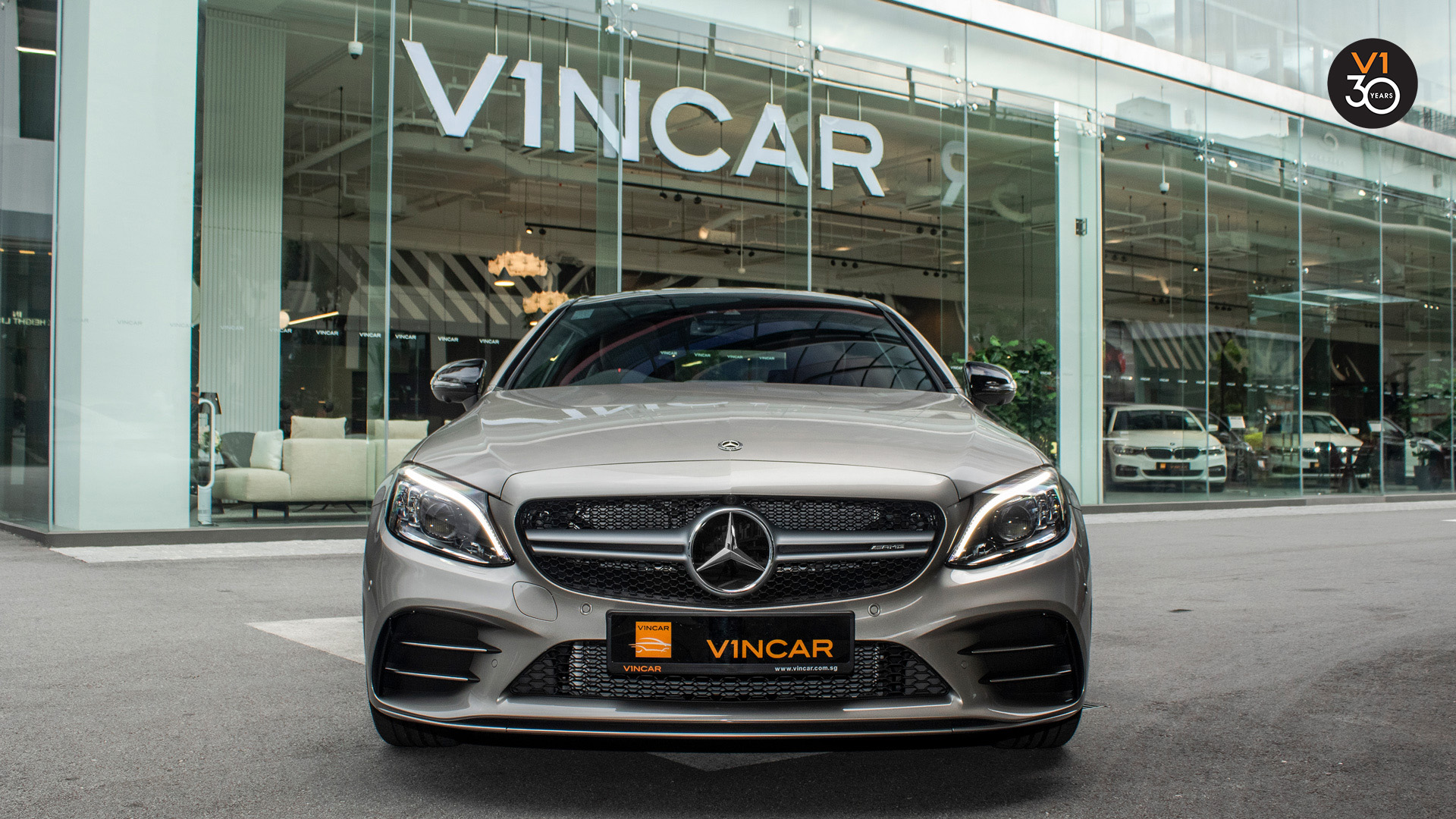Mercedes C43 Coupe 4MATIC AMG - Direct Front